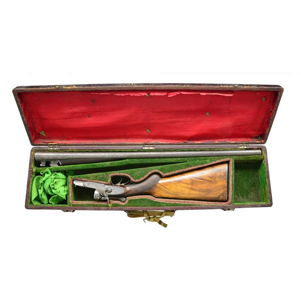 EARLY CHARLES DALY 10 BORE HAMMER GUN WITH