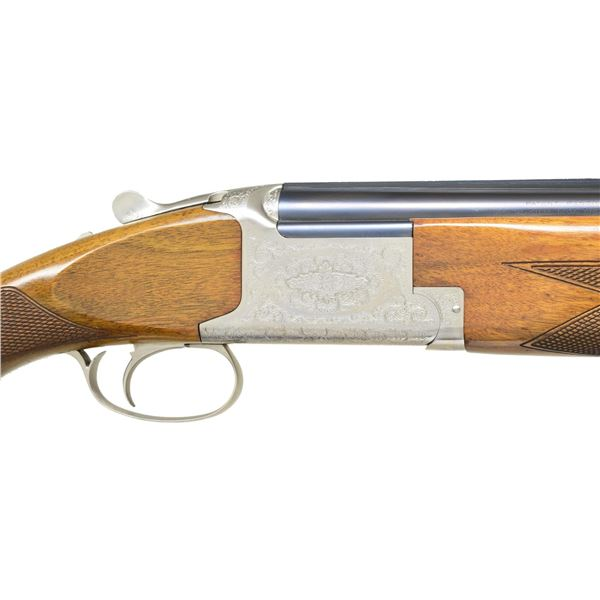 BROWNING B27 GRADE II DELUXE O/U SHOTGUN.