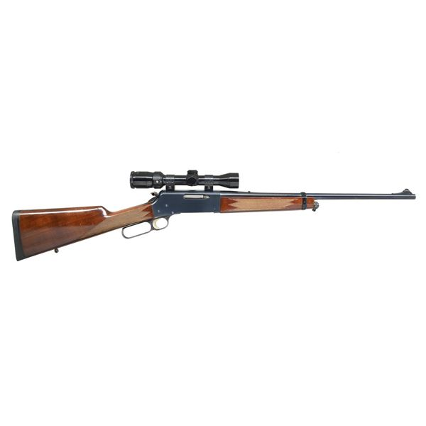 BROWNING MODEL 81 BLR LEVER ACTION RIFLE.