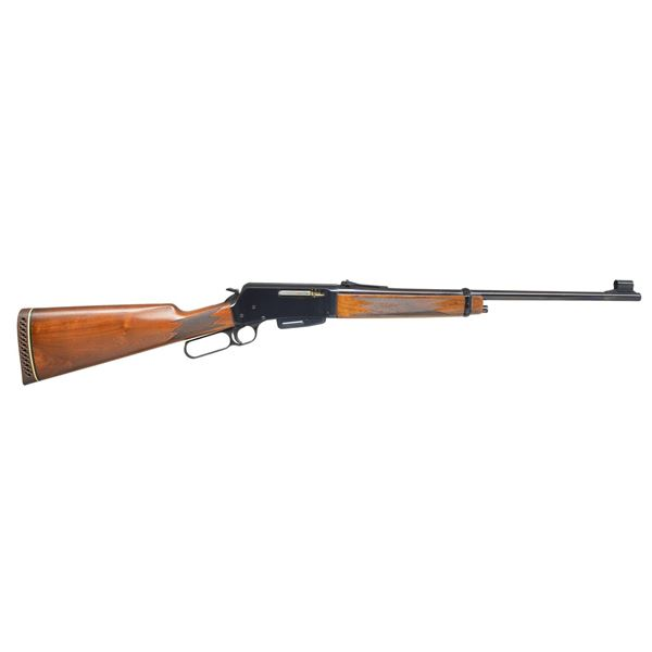 BROWNING BELGIAN BLR LEVER ACTION RIFLE.