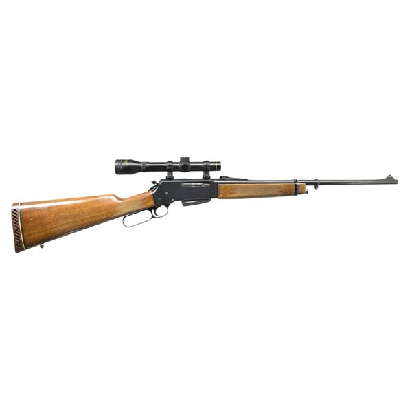 BROWNING BLR CARBINE WITH SCOPE & EXTRA MAG.