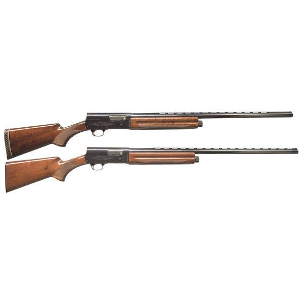 BROWNING A5 MAGNUM TWELVE & LIGHT TWELVE SHOTGUNS.