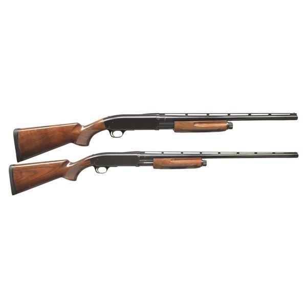 2 BROWNING BPS PUMP SHOTGUNS.