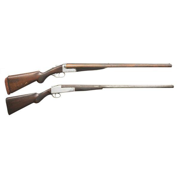 2 AMERICAN SHOTGUNS.