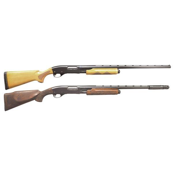 2 REMINGTON MODEL 870 WINGMASTER PUMP SHOTGUNS.