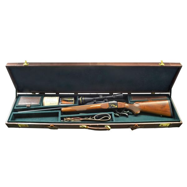 SPECIAL ISSUE RUGER NO. 1B FALLING BLOCK RIFLE.