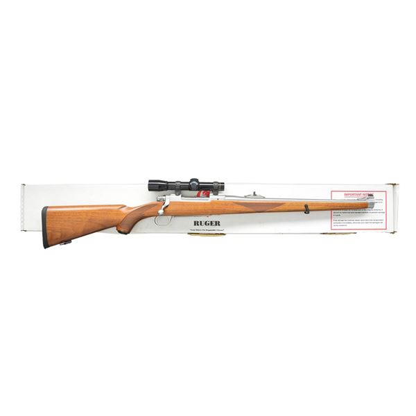 RUGER STAINLESS MODEL 77 MKII RSI BOLT ACTION