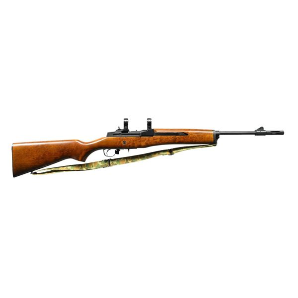EARLY RUGER MINI-14 SEMI-AUTO RANCH  RIFLE.