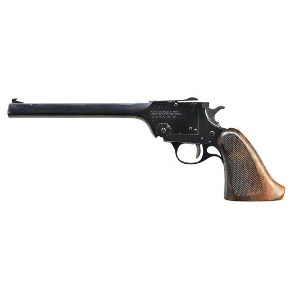 HARRINGTON & RICHARDSON USRA SINGLE SHOT PISTOL.