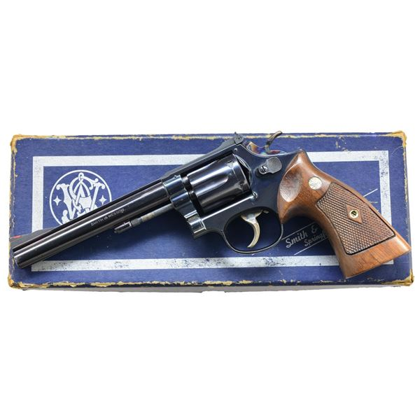 SMITH & WESSON WELL OPTIONED MODEL17-1 REVOLVER.