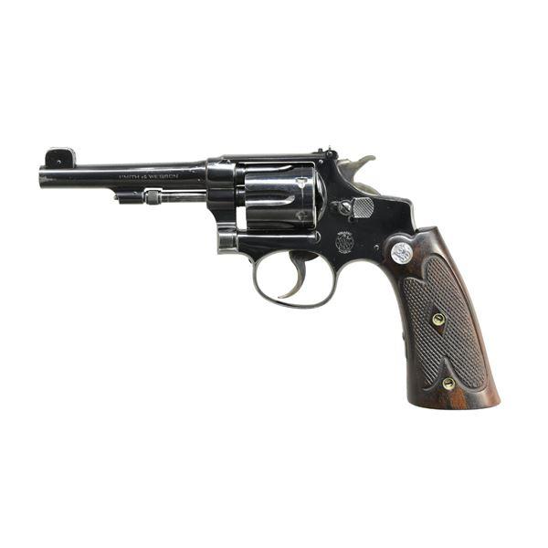 SMITH & WESSON 22/32 PRE WAR KIT GUN DA REVOLVER.