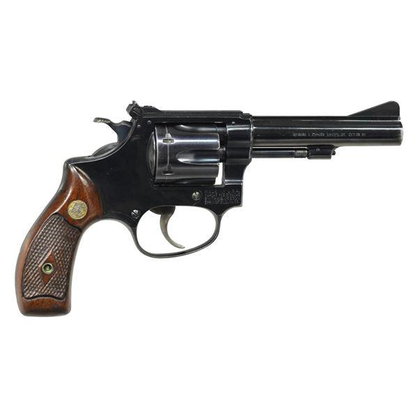 "SMITH & WESSON 34 MODEL OF 1953 ""22/32 KIT GUN"" DA"