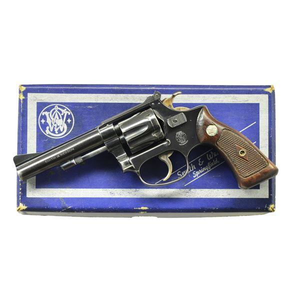 SMITH & WESSON MODEL 34 KIT GUN REVOLVER.