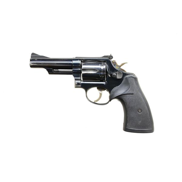 4 INCH BLUED SMITH & WESSON MODEL 19-3 357 MAGNUM