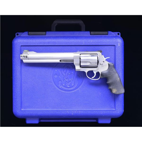 SMITH & WESSON 460 XVR STAINLESS REVOLVER.
