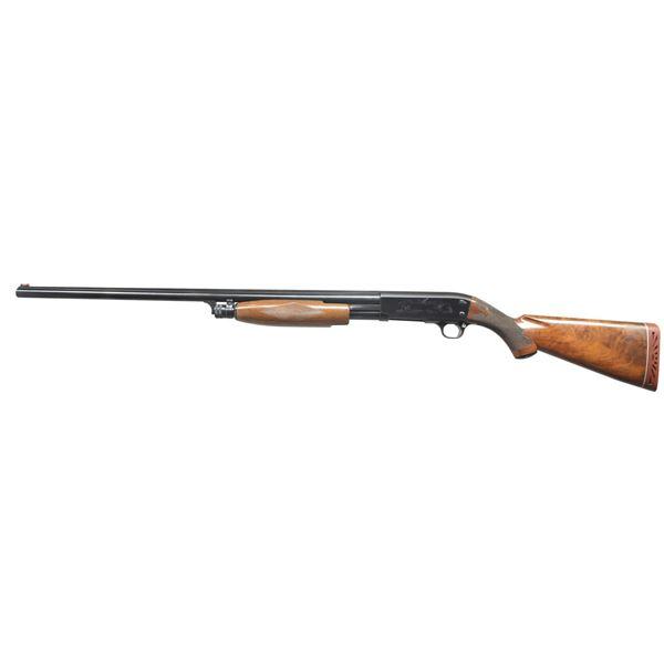 ITHACA MODEL 37-RD PUMP SHOTGUN.