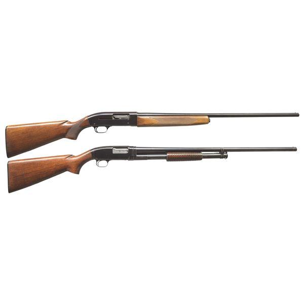 WINCHESTER MODEL 50 & 12 REPEATING SHOTGUNS.