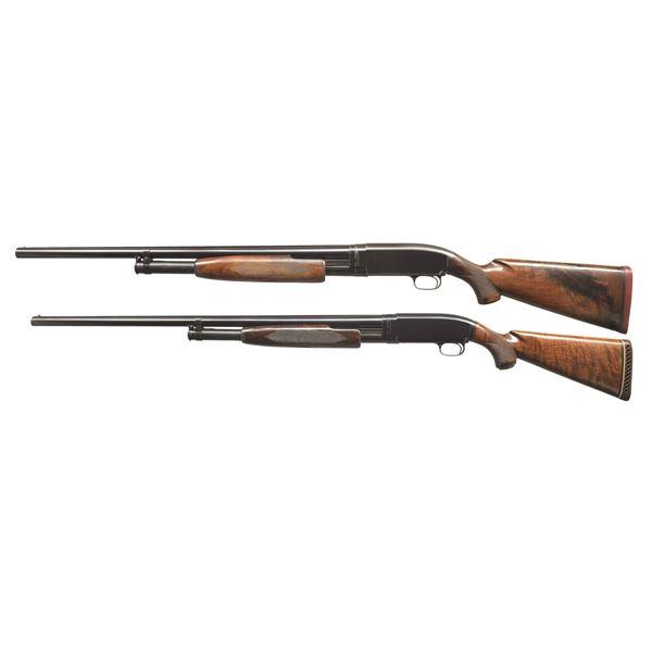 WINCHESTER MODEL 12 FIELD & SKEET PUMP SHOTGUNS.