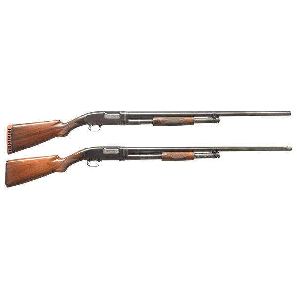 2 WINCHESTER MODEL 1912 PUMP SHOTGUNS.