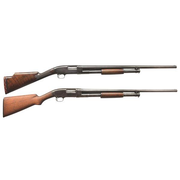 WINCHESTER MODEL 12 & 1912 PUMP SHOTGUNS.