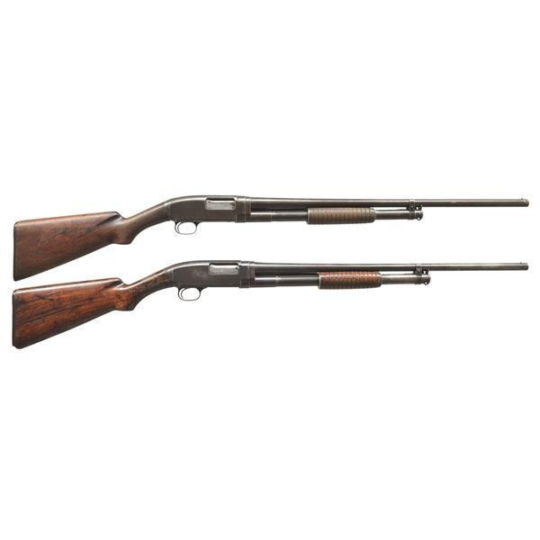 2 WINCHESTER 1912 PUMP SHOTGUNS.