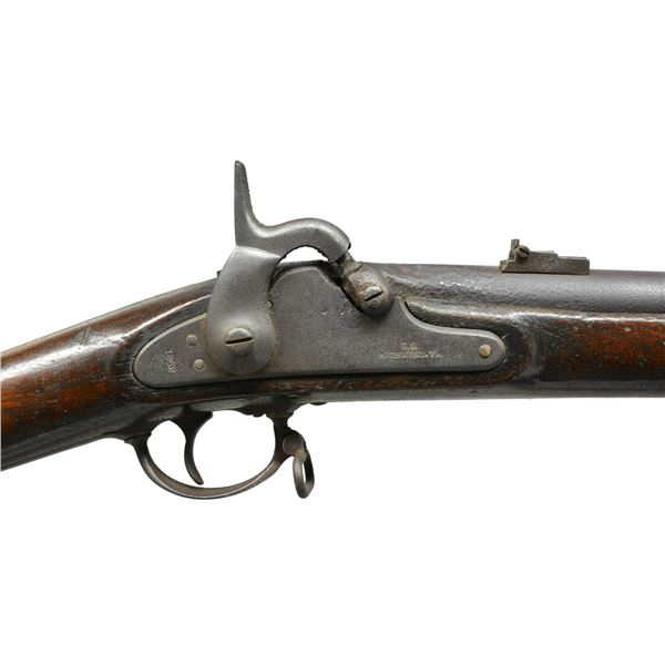 FINE 1862 DATED RICHMOND RIFLED MUSKET.