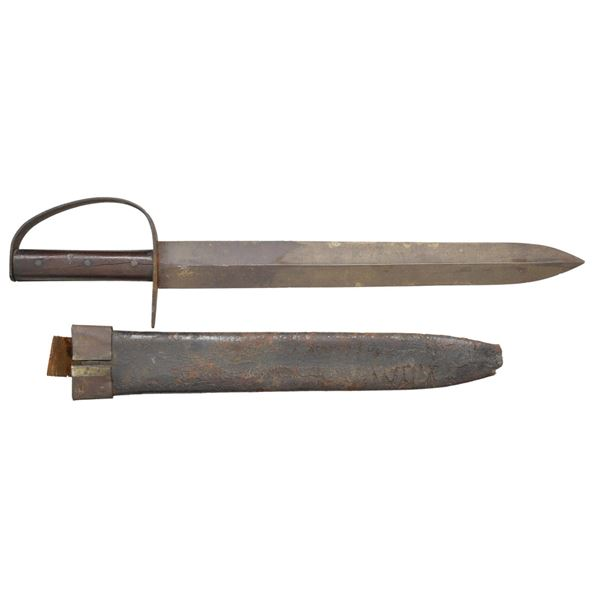 CONFEDERATE STATES ARMORY D-GUARD BOWIE KNIFE