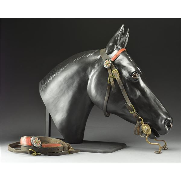 CIVIL WAR FIFTH ARMY CORPS OFFICER'S BRIDLE, BIT &