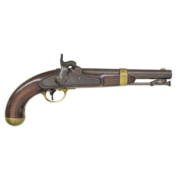 1851 DATED ASTON CONTRACT MODEL 1842 PISTOL.