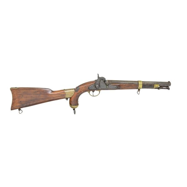 US MODEL 1855 PERCUSSION PISTOL CARBINE WITH