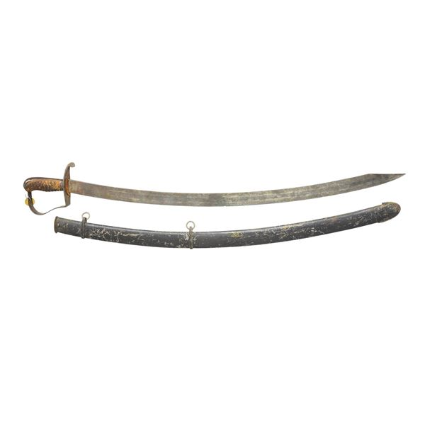 US M1812/13 CAVALRY SABER BY NATHAN STARR.