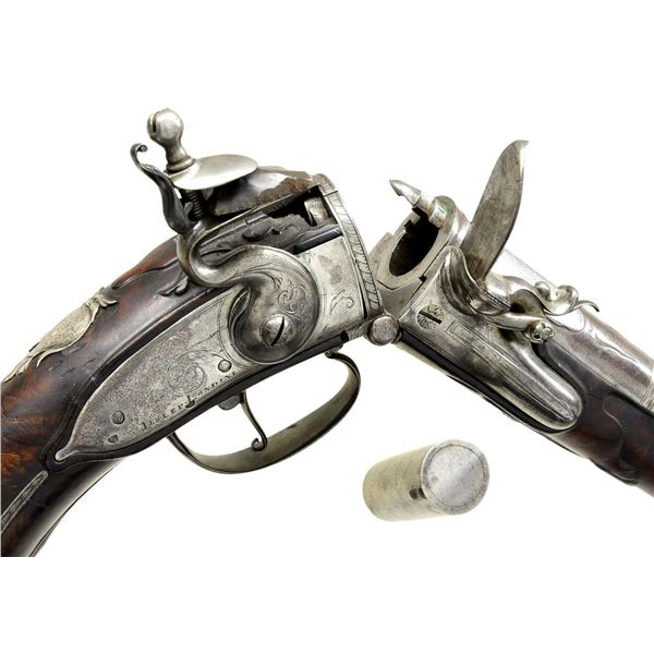 VERY FINE AND EXTREMELY RARE CIRCA 1690 CARTRIDGE