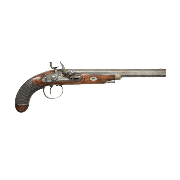 PAIR OF HIGH QUALITY FLINTLOCK DUELING PISTOLS BY