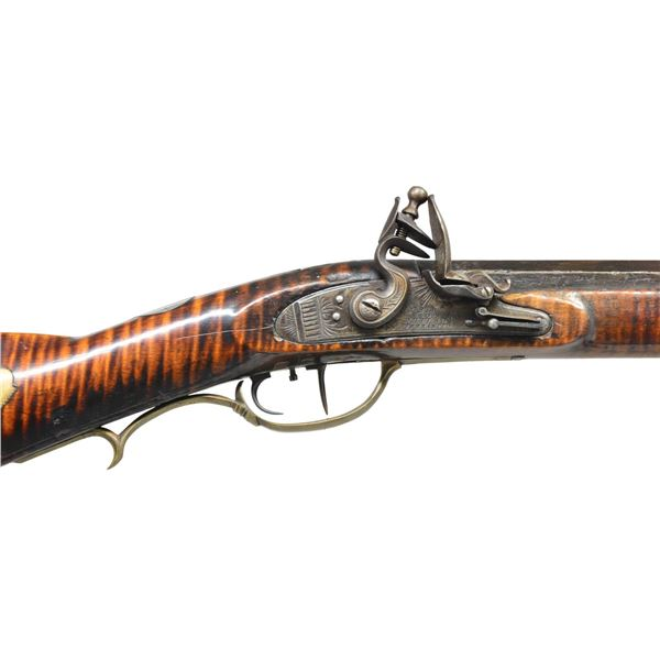 ATTRACTIVE CURLY MAPLE RIFLE BY GEORGE SMITH,