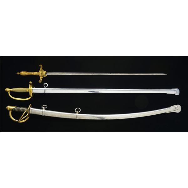 3 US STYLE SWORDS.