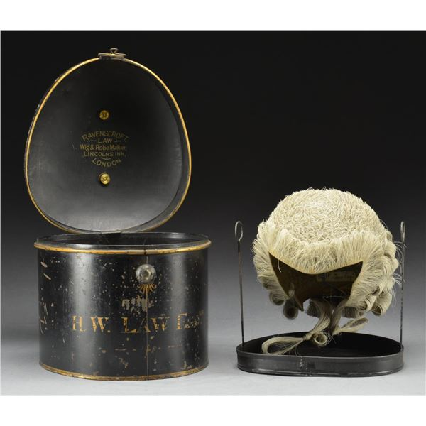 LATE 19TH CENTURY BRITISH BARRISTER'S WIG IN