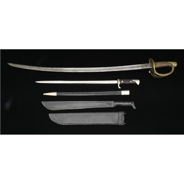 5 EDGED WEAPONS.