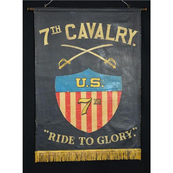 20TH CENTURY 7TH CAVALRY BANNER.