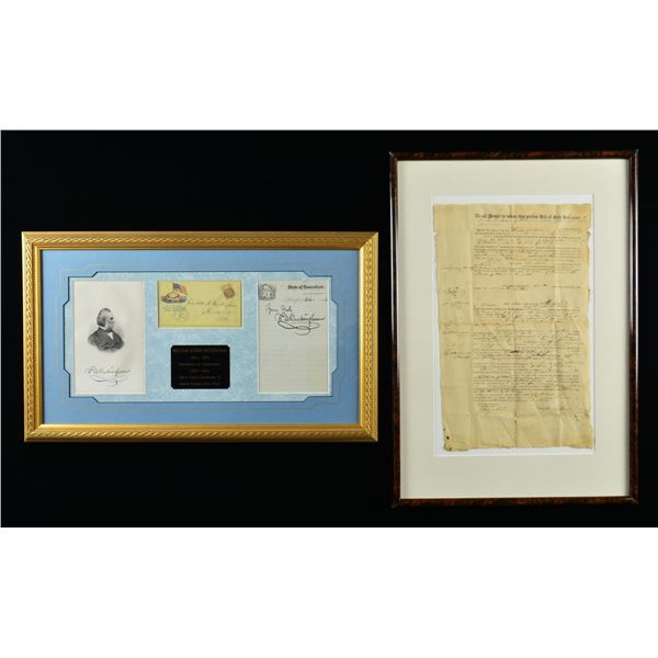 FRAMED MILITARIA, PRINTS & RELATED ITEMS.