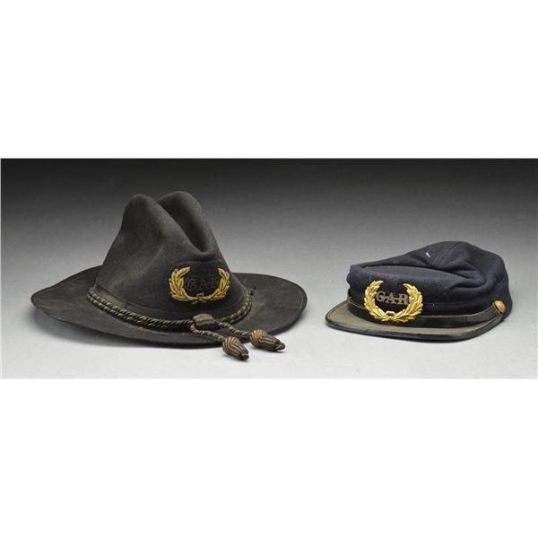 "2 FINE ""GAR"" HATS."