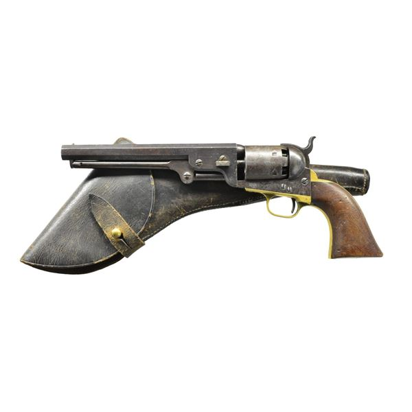 FINE MARTIAL 3RD MODEL COLT NAVY REVOLVER WITH