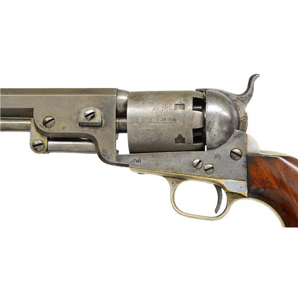 RARE COLT 3RD MODEL 1851 PROTOTYPE NAVY REVOLVER.