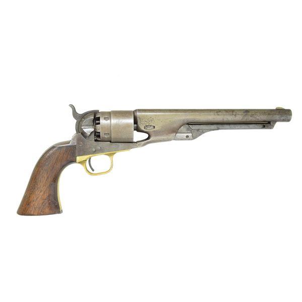CIVIL WAR MARTIAL MODEL 1860 COLT ARMY REVOLVER.