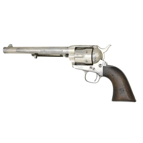 EARLY COLT FRONTIER SIX SHOOTER SAA REVOLVER.
