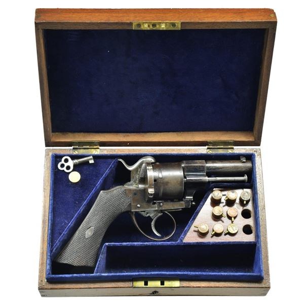 GEORGE ARMSTRONG CUSTER CASED REVOLVER,