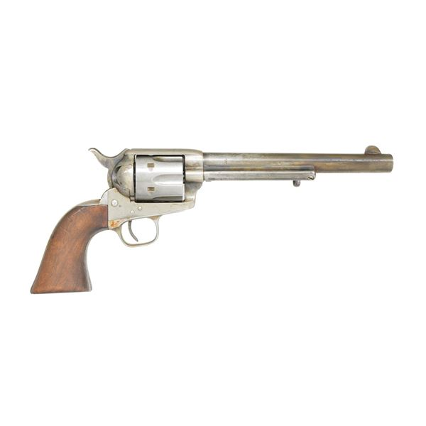 COLT SINGLE ACTION ARMY REVOLVER, CUSTER SERIAL