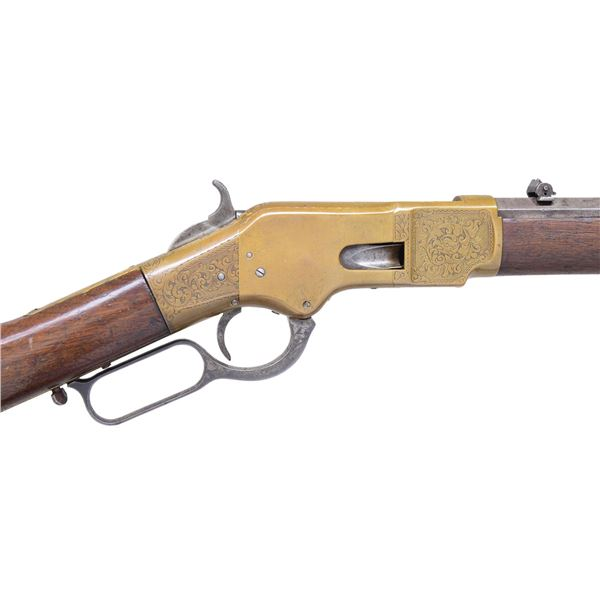 HISTORIC WINCHESTER 1866 RIFLE PRESENTED TO