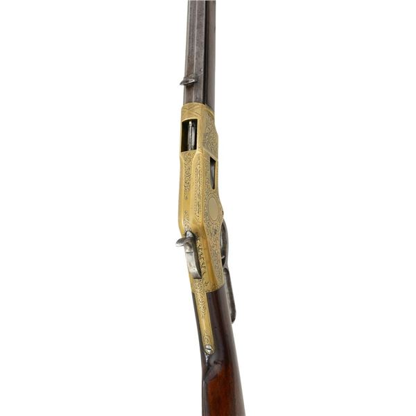 DESIRABLE WINCHESTER 1866 ENGRAVED LEVER ACTION
