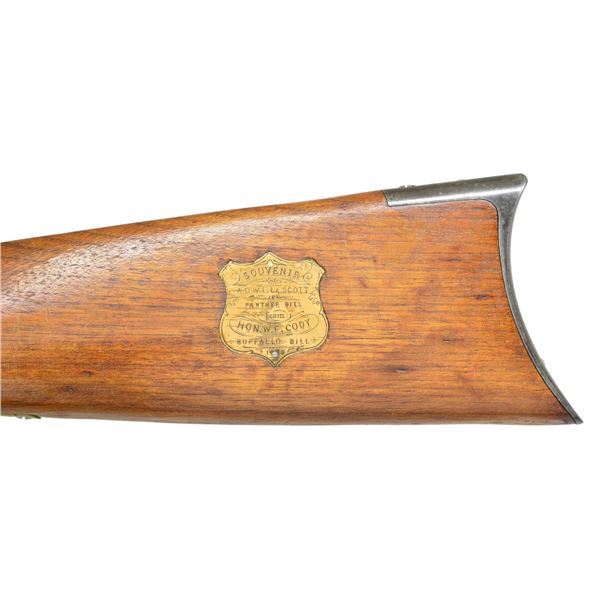 ICONIC WINCHESTER 1866 LEVER ACTION RIFLE.