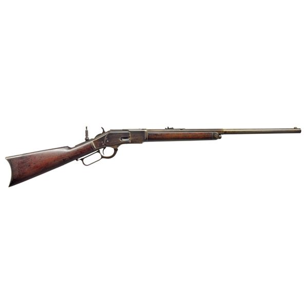 WINCHESTER 2ND MODEL 1873 LEVER ACTION RIFLE.